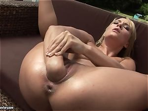 Blue Angel enjoy fist plowing at the bed