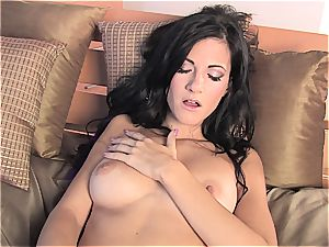 Lauren Crist can make a pile of naughty things with her fake penis