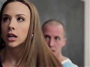 jaw-dropping tutor Chanel Preston takes advantage of her schoolgirl