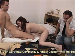 cuckold girlfriend pounding randon boy for money