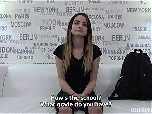 Czech lady audition Dominika