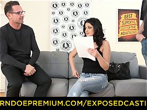 uncovered audition - Coco de Mal banged in red-hot audition