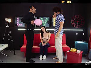 PORNDOE PEDIA - Spanish Nekane in boob idolize tutorial