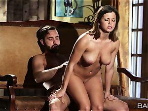 marvelous Keisha Grey bangs a immense pole