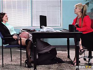 Krissy Lynn endures her toughest interview