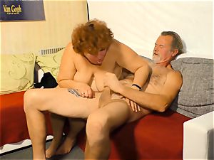 xxx Omas - German grandmother gets penetrated like a super-bitch