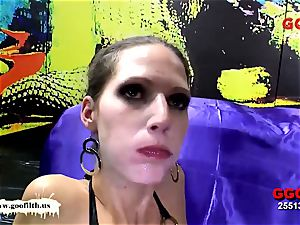 German Goo damsels - Viktoria and Lana greatest jizz whores