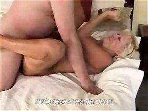 grannie riding enormous dick