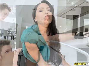 Smoking super hot Lela starlet fucked in her cock-squeezing slit