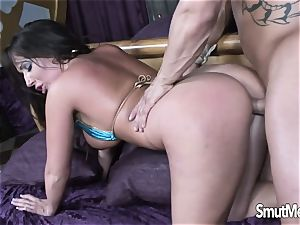 super-fucking-hot Blooded cougar Blows and pulverizes a big dick