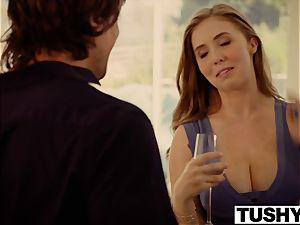 TUSHY buxom babe smashes her sisters ex boyfriend