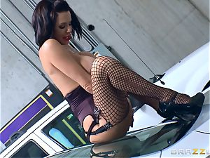 insatiable mature Veronica Avluv arched over and humped