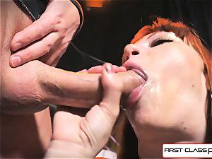 first Class pov - Alexa Nova blowing a enormous spunk-pump in pov