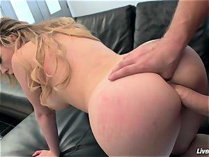 LiveGonzo Kagney Linn Karter super-sexy stunner Getting plumbed