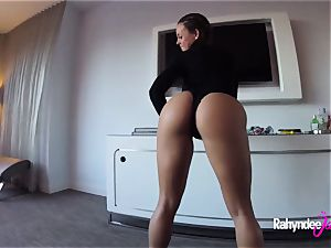Rahyndee James swanky hotel humping point of view