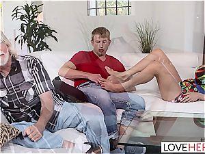 LoveHerFeet - Stepmom Wants My jism On Her soles