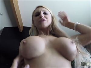 Alix Lynx point of view muff thrashed by her stepdad
