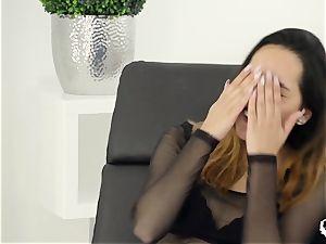 HER restrict - warm raunchy anal invasion with super-sexy Dutch teen