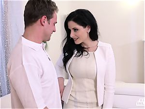 ultra-kinky INLAWS - Stepmom shares dude with stepdaughter