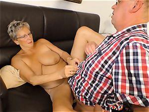 xxxOmas - Angelika J needs rock hard trunk - german porno