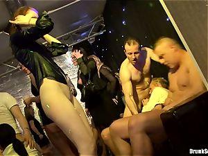 Bibi Fox with cutie friends packed with super-steamy cum