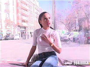 steamy teen Apolonia Lapiedra plows the Model Agent
