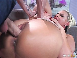 Phoenix Marie gets porked in the bootie by thick dicked Danny D
