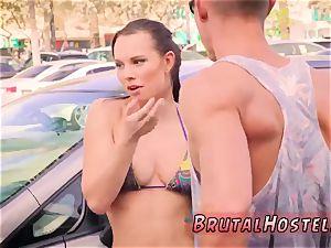 super-fucking-hot nubile couple public and explore break greatest mates Aidra Fox and Kharlie Stone are