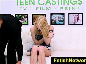 FetishNetwork Cadence Lux gimp audition