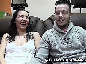 Spanish inexperienced couple ravaging