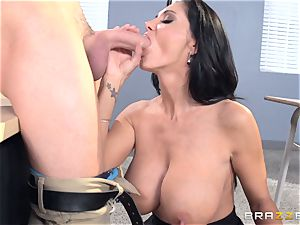 buxom educator Ava Addams is torn up by her student