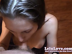 fledgling woman inhales YOUR knob pov blowage during a live