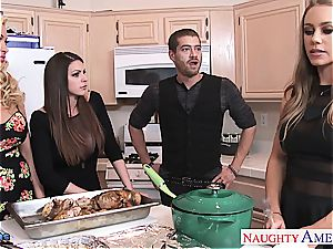 Brooklyn haunt, Nicole Aniston and Summer Brielle pulverizes
