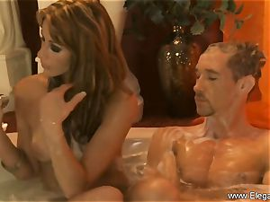 sensuous massage For His exhausted cock